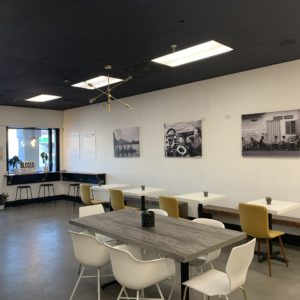 Kaffeine Alley interior