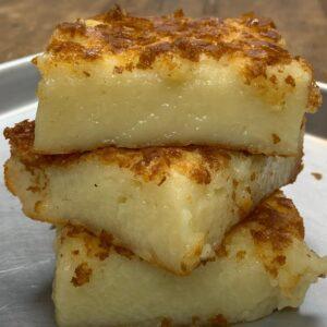 Butter mochi, banh khoai mi
